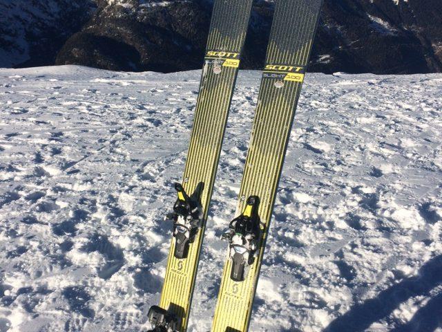 Scott Slight ski review / Fritschi Tecton 12 binding review.